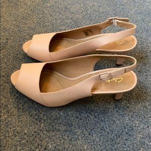 Clark's Heavenly Leah Shoes Dusty Pink size 11